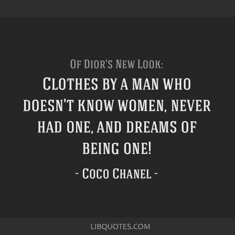 Clothes by a man who doesn't know women, never had one, and dreams of being one!