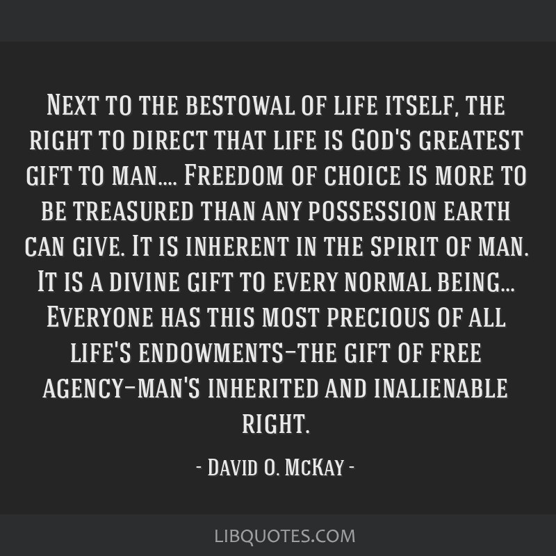 Next to the bestowal of life itself, the right to direct ...