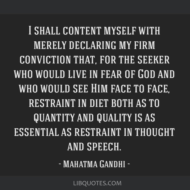I shall content myself with merely declaring my firm conviction that, for the seeker who would live in fear of God and who would see Him face to...