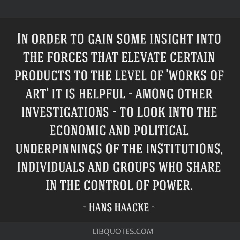 In order to gain some insight into the forces that elevate certain products to the level of 'works of art' it is helpful - among other investigations ...
