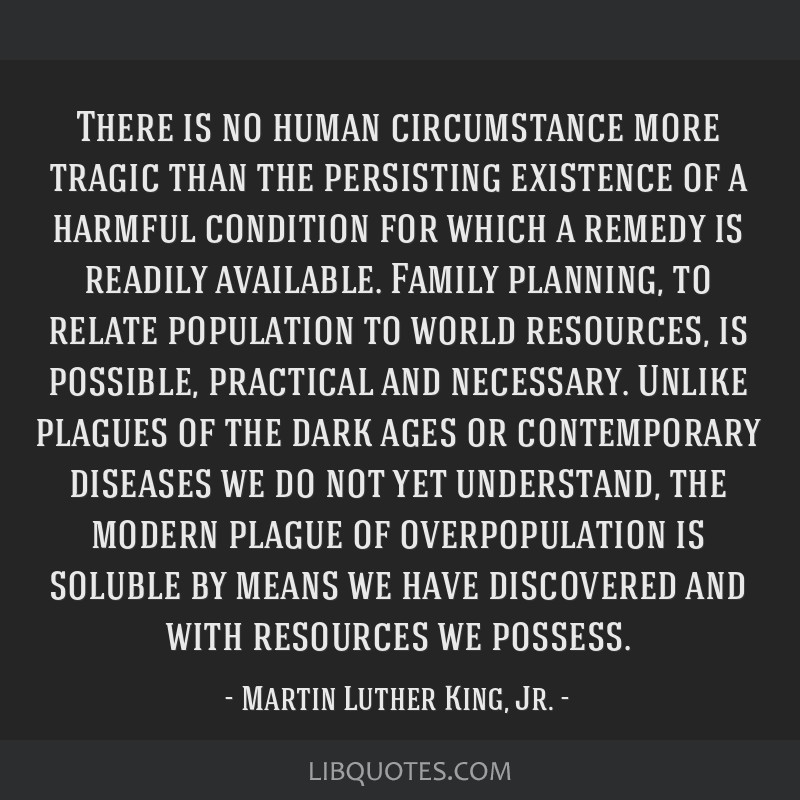 There is no human circumstance more tragic than the persisting existence of a harmful condition for which a remedy is readily available. Family...