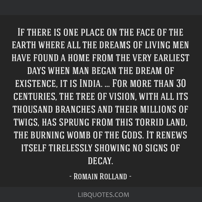 If there is one place on the face of the earth where all the dreams of living men have found a home from the very earliest days when man began the...