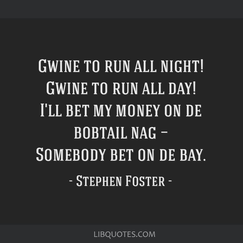 I ll bet my money on the bobtail nag martingale betting system simulator