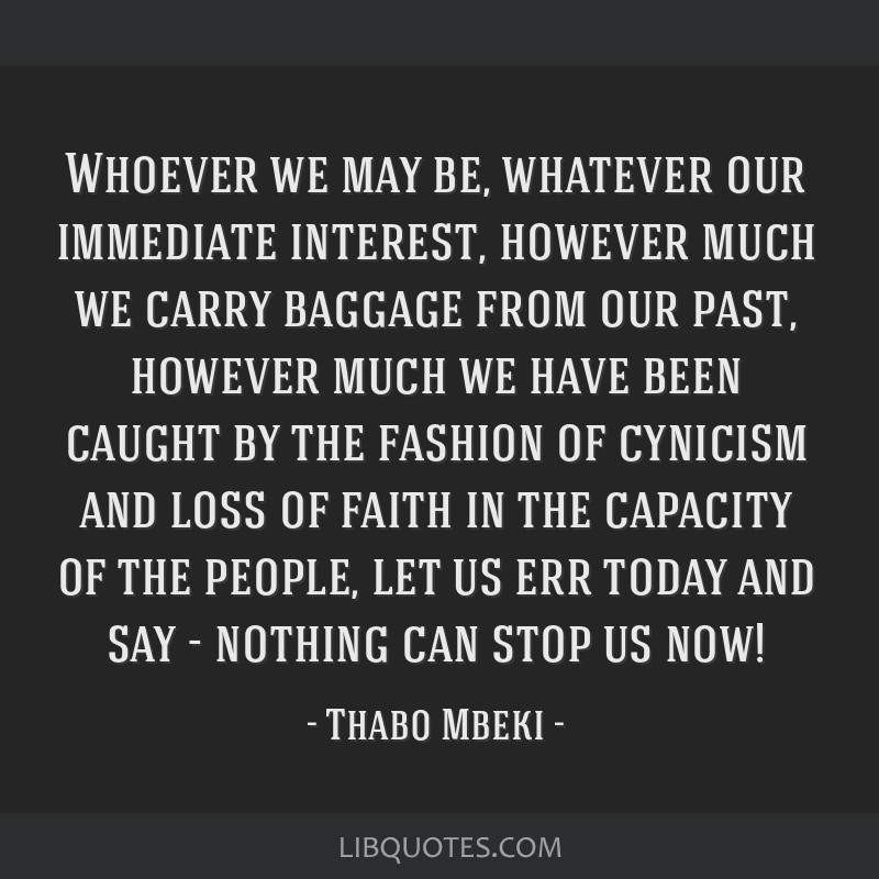 Whoever we may be, whatever our immediate interest, however much we carry baggage from our past, however much we have been caught by the fashion of...