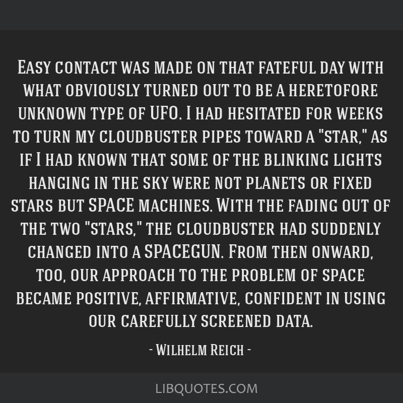 Easy contact was made on that fateful day with what obviously turned out to be a heretofore unknown type of UFO. I had hesitated for weeks to turn my ...