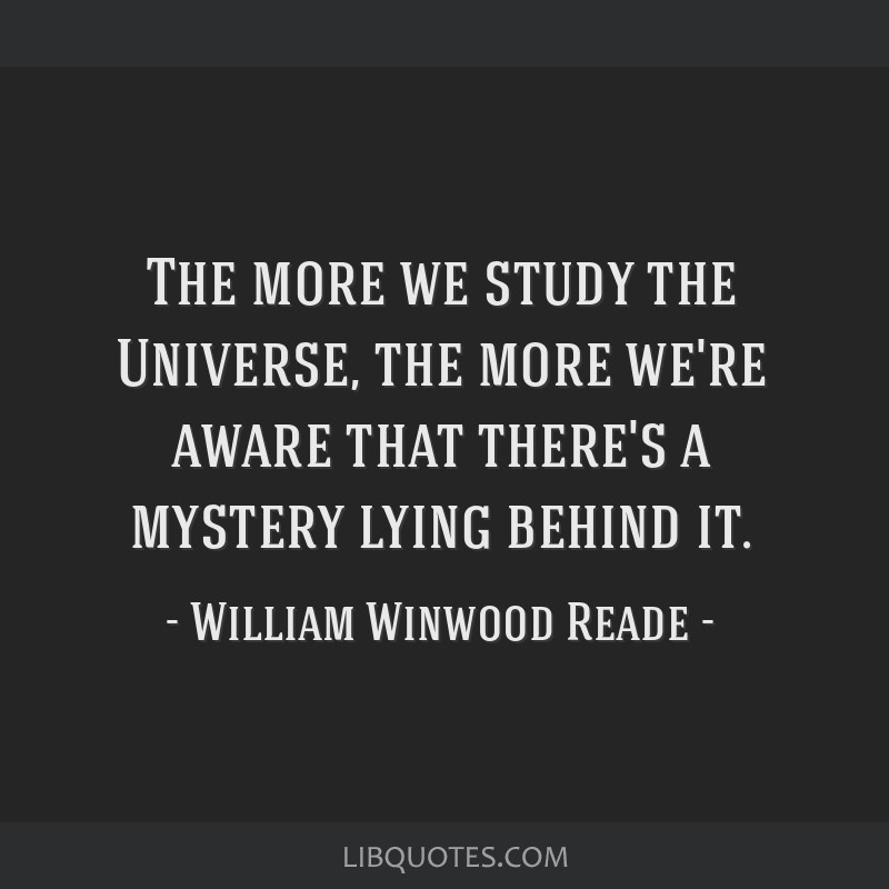 The more we study the Universe, the more we're aware that there's a mystery lying behind it.
