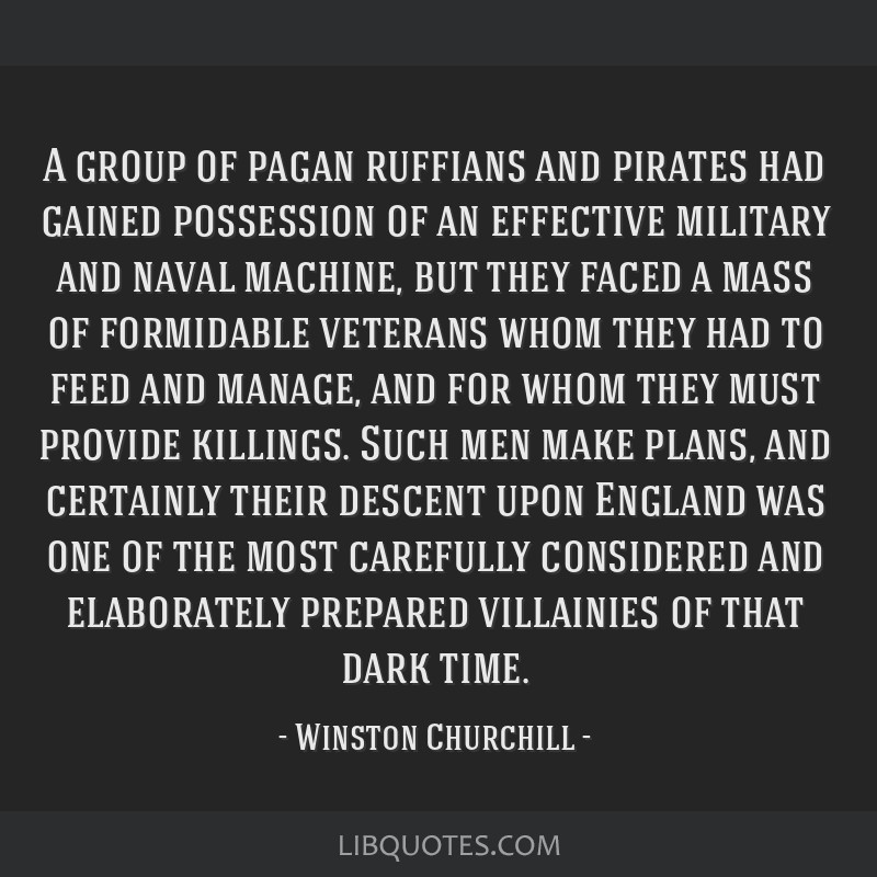 A group of pagan ruffians and pirates had gained possession of an effective military and naval machine, but they faced a mass of formidable veterans...